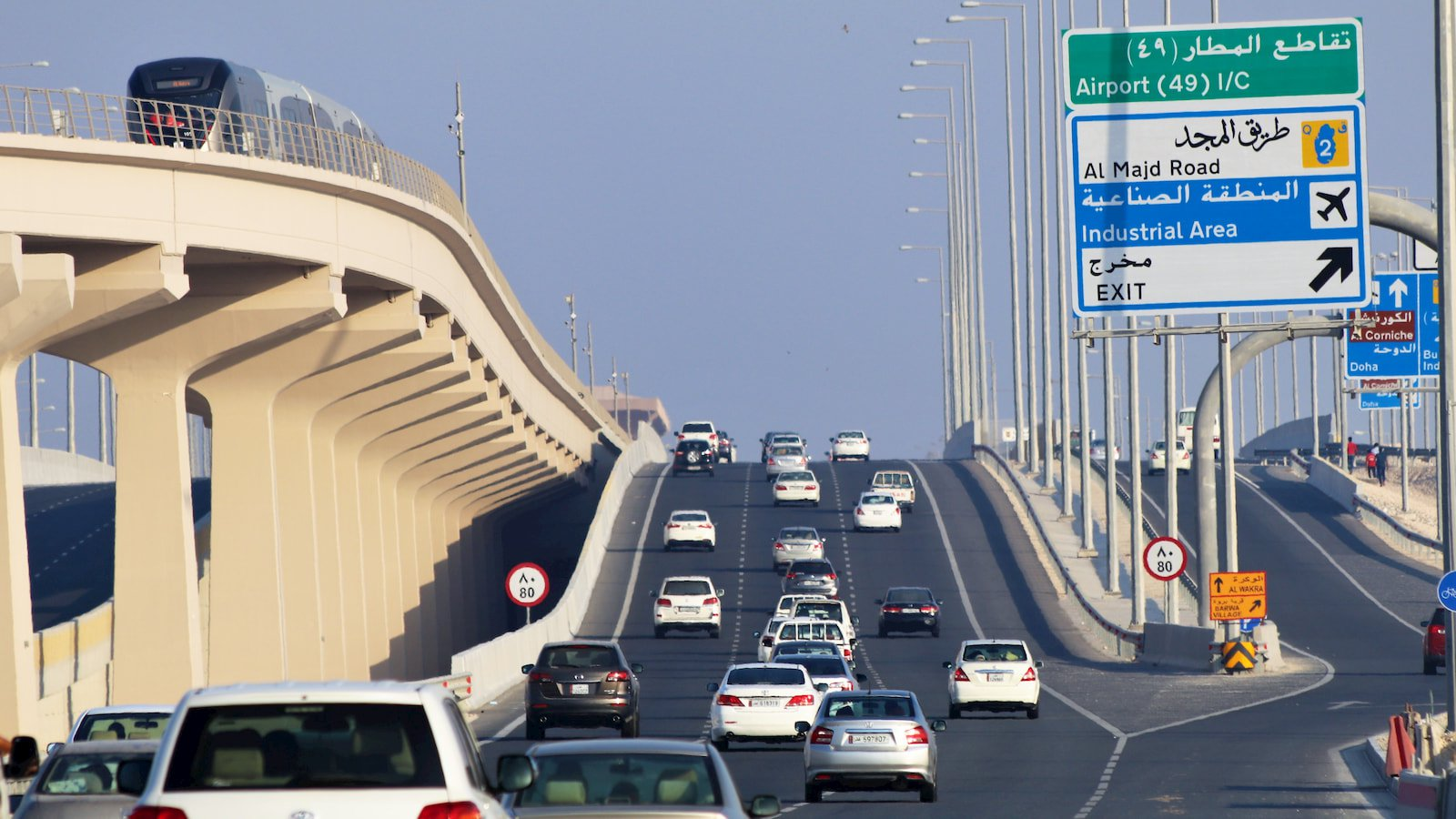 Doha traffic and metro.jpg