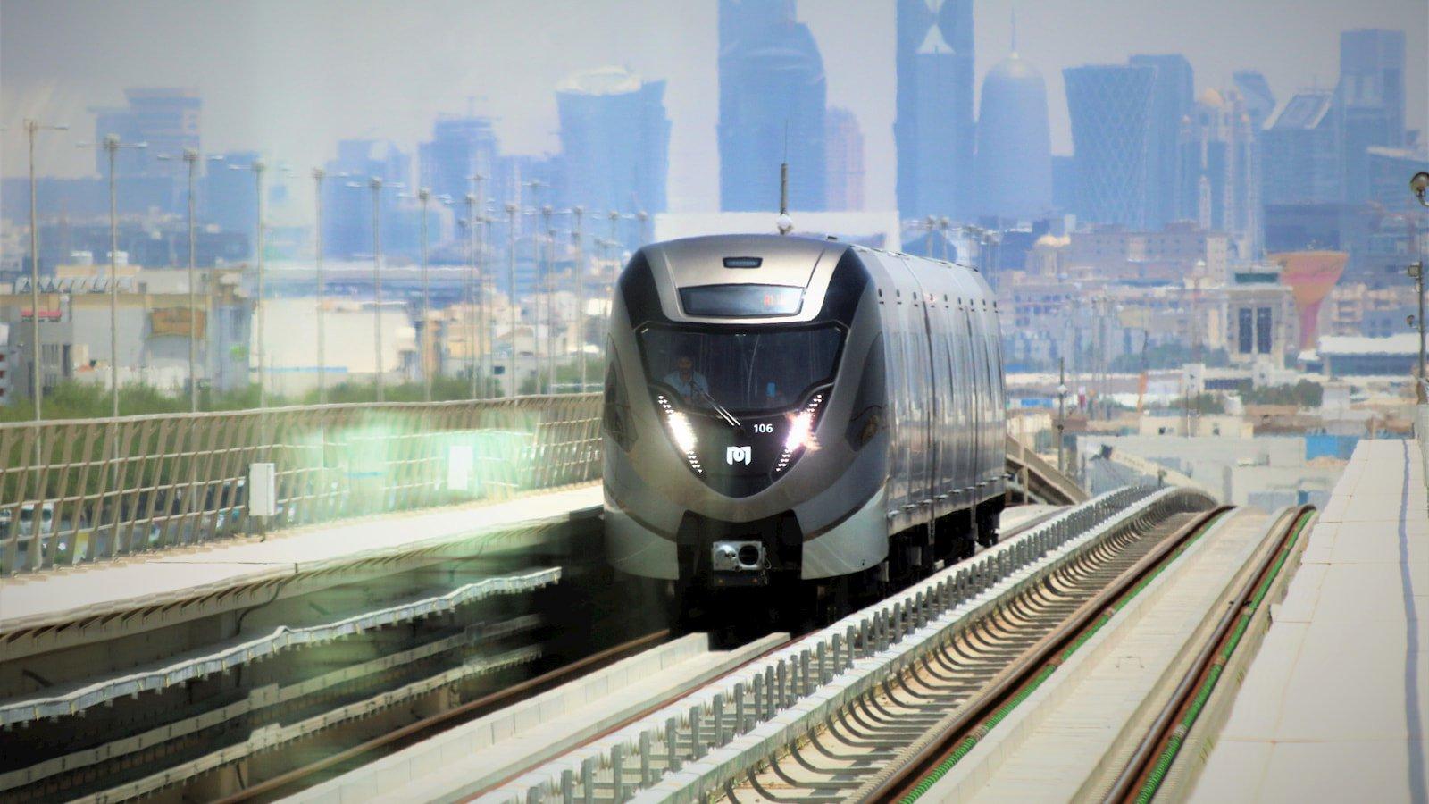 Qatar Metro - West Bay on the Background.jpg